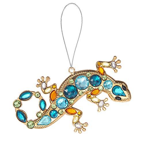 Ganz Lizard Acrylic Crystal Ornament/Suncatcher, 4″