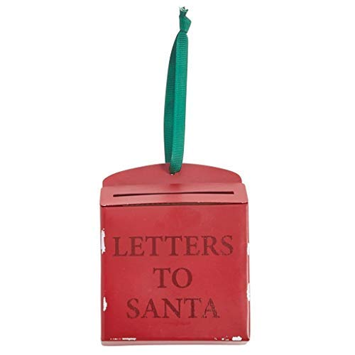 Mud Pie Red Mailbox Ornaments Sets