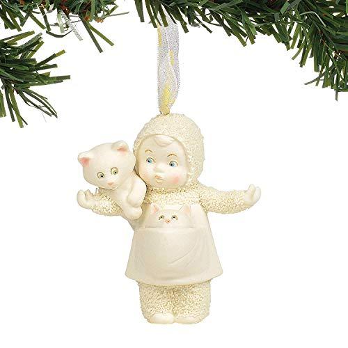 Department 56 Snowbabies Cat Lady Hanging Ornament, 3″, Multicolor