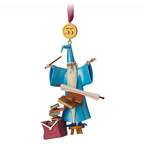 Disney Merlin Legacy Sketchbook Ornament – The Sword in The Stone – Limited Release Mutli