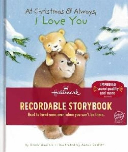 """Hallmark """"At Christmastime and Always, I Love You"""" Recordable Storybook"""