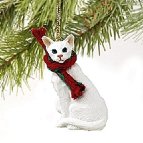 Conversation Concepts White Oriental Shorthaired Original Ornament
