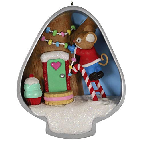 Hallmark Keepsake Ornament 2019 Year Dated Cookie Cutter Christmas Mouse,