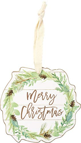 Primitives by Kathy Merry Christmas Hanging Ornament