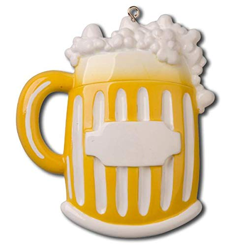Polar X Beer Mug Personalized Christmas Ornament