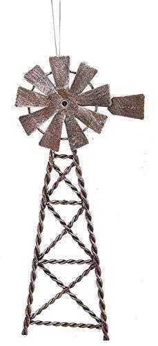 Midwest-CBK Metal Windmill Ornament