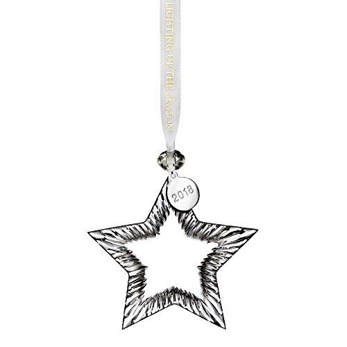 Waterford Crystal 2018 Blank Star Ornament 4.1″