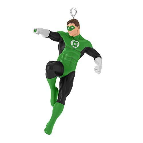 Hallmark Keepsake Mini Christmas Ornament 2019 Year Dated DC Comics Justice League Green Lantern Miniature, 1.51″,