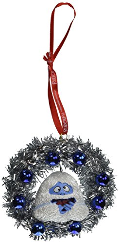Department 56 Rudolph Bumble in a Wreath Hanging Ornament