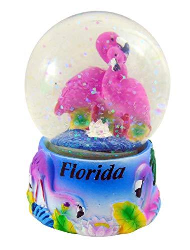 Westman Works Flamingo Snow Globe Polyresin Water Globe Handpainted Souvenir, 3 Inch