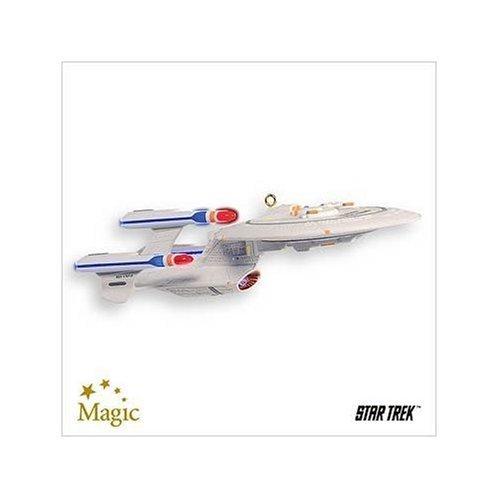 Future USS Enterprise Star Trek The Next Generation 2007 Hallmark Ornament