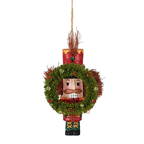 Department 56 Crazy Nuts and Crackers Fruitcake Wreath Ornament, 5 inch
