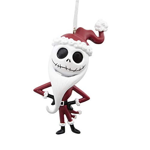 Hallmark Christmas Ornaments, Disney The Nightmare Before Christmas Jack Skellington in Santa Outfit Ornament