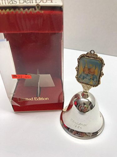 Hummel Silver Christmas Bell 1984