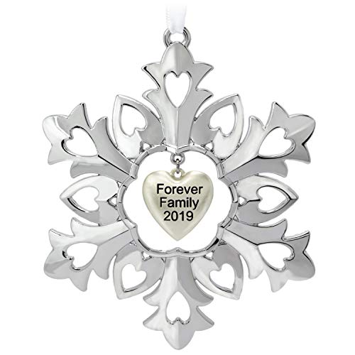 Hallmark Keepsake Ornament, Forever Family Snowflake