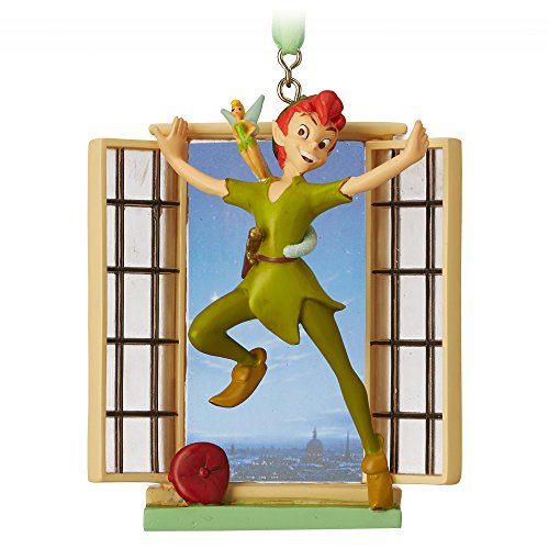 Disney Peter Pan and Tinker Bell Legacy Sketchbook Ornament – Limited Release