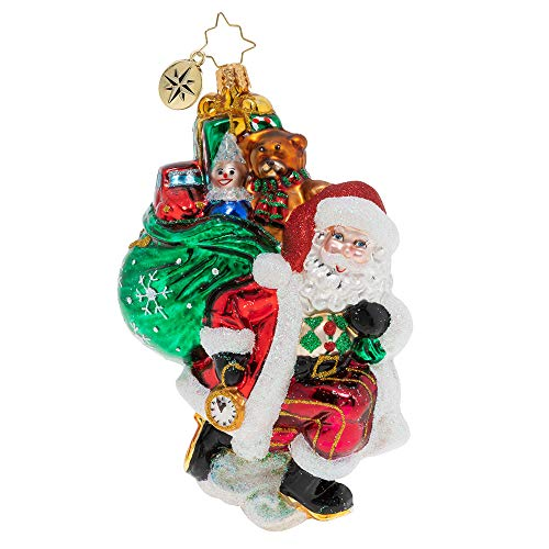 Christopher Radko Almost Time Christmas Ornament, Multicolor