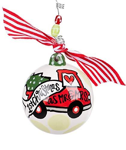 Glory Haus Mr. & Mrs. 1st Christmas Ball Ornament