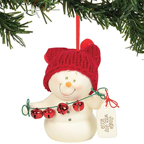 Department 56 Snowpinions Jingle with Joy 2019 Hanging Ornament, 3.125″, Multicolor