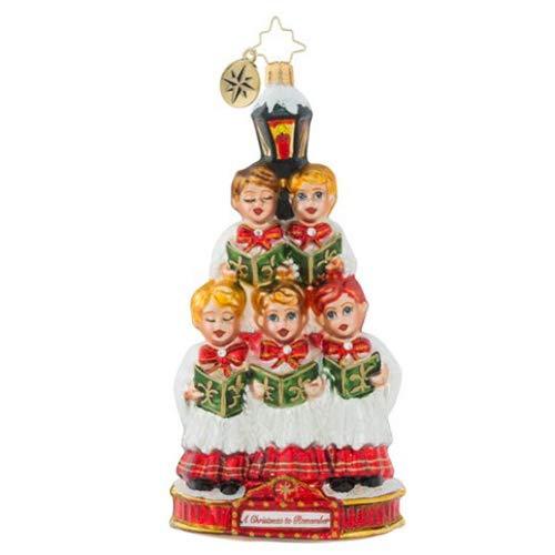 Christopher Radko Caroling Quintet Christmas Ornament
