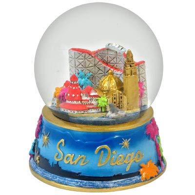 Topline San Diego California Snow Globe 65mm in Color