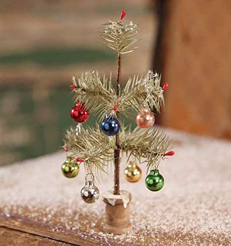 Bethany Lowe Designs Tiny Christmas Feather Tree