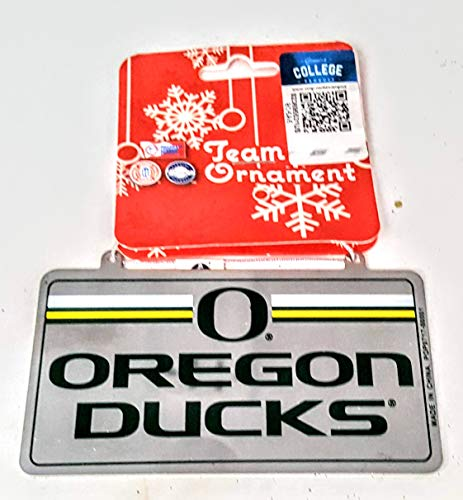 Forever Collectibles Oregon Ducks Team Metal Ornament APX 2 in. x 4 in.