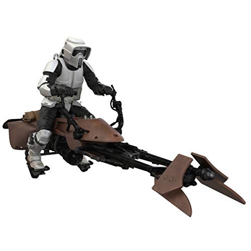 Hallmark Keepsake Christmas Ornament 2019 Year Dated Star Wars: Return of The Jedi A Wild Ride on Endor with Sound, A