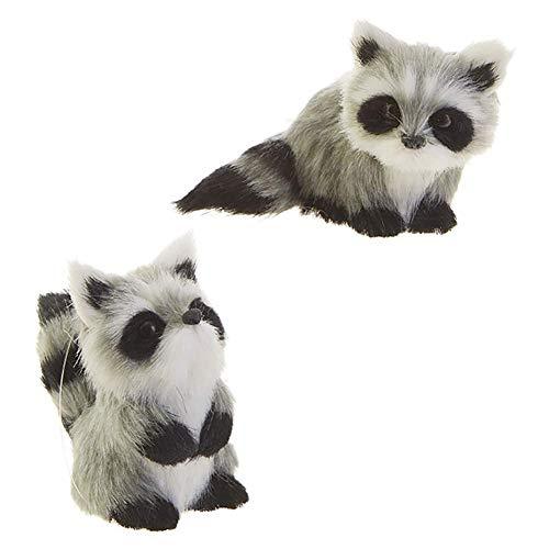 Raz – Raccoon Ornaments – Set of 2