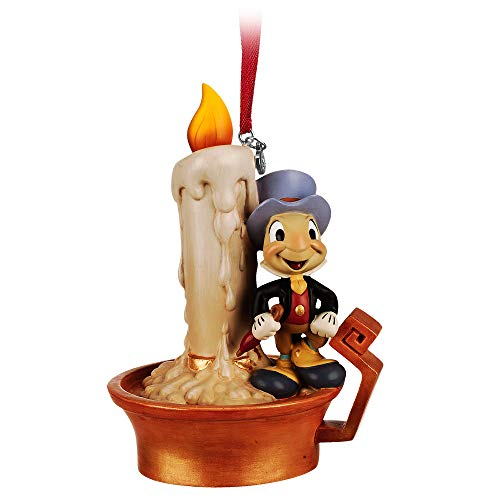 Disney Jiminy Cricket Light-Up Sketchbook Ornament