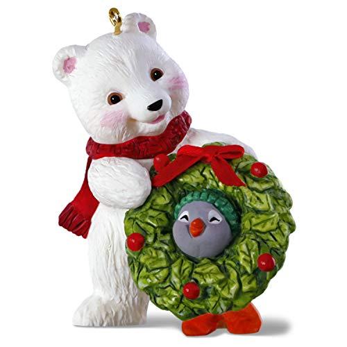 Hallmark Keepsake Christmas Ornament 2019 Year Dated Snowball and Tuxedo Decking The Halls Polar Bear and Penguin,