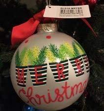 Coton Colors Merry Christmas Ornament