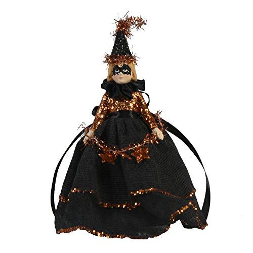 Bethany Lowe Designs Halloween Doll Ornament Decoration