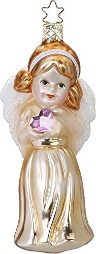 Inge-Glas Swarovski Angel Delicate Feelings 10001S019 2019 Annual Ornament