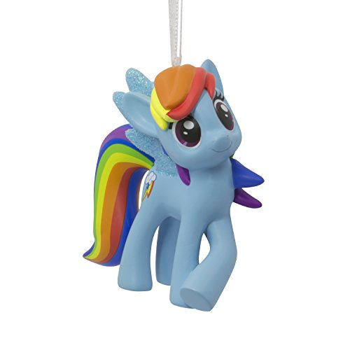Hallmark Christmas Ornament Hasbro My Little Pony Rainbow Dash,