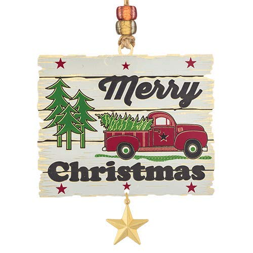 ChemArt 59572 Merry Sincere Sentiments Christmas Ornament