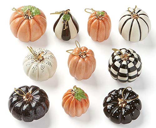 Lenox Ornament Tree – Set of Ornaments (Mini Pumpkin – Tree not Included)