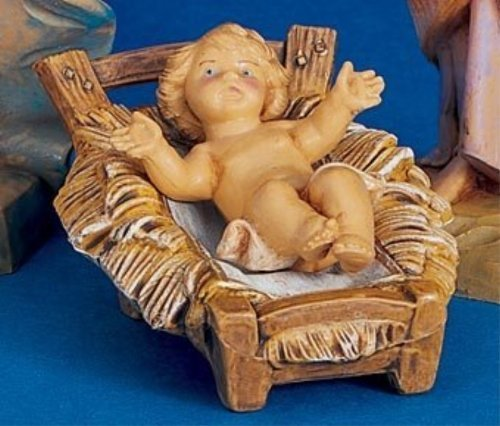 Fontanini 5 Series Baby Jesus With Manger""