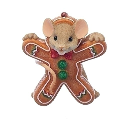 Roman – 2.75″MOUSE GINGERBRD COOKIE FG YOUR SWEETNESS MAKES ME SMILE