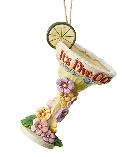 Enesco Margaritaville By Jim Shore Margaritia Glass Ornament, 3.8″