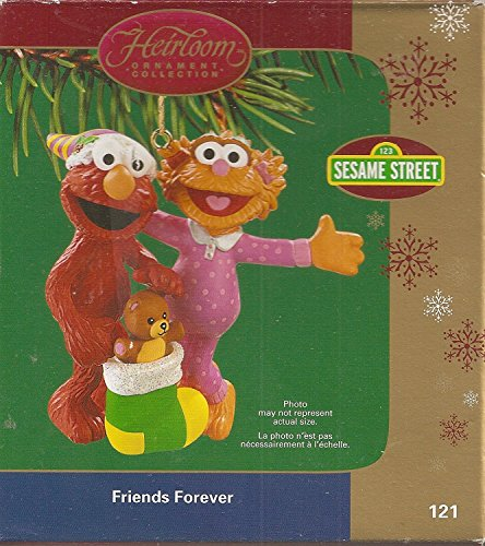 Friends Forever Sesame Street Ornment 2005