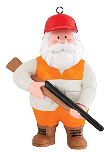 Carlton Heirloom Ornament 2017 Hunting Santa Claus – #CXOR067M