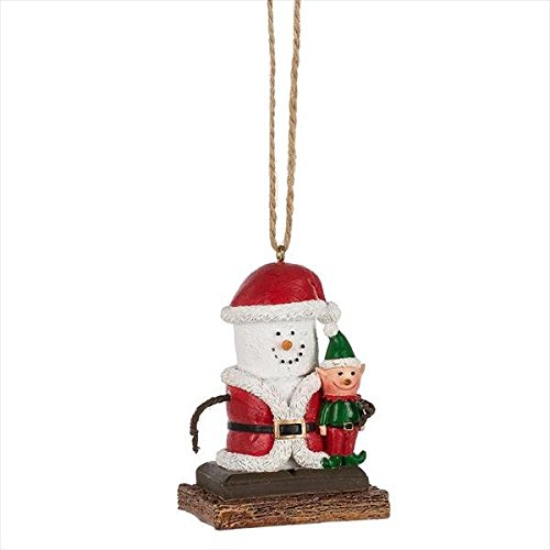 Midwest-CBK S'mores Santa with Elf Ornament