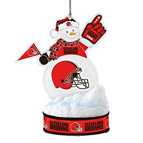 NFL Cleveland Browns LED Snowman Ornament