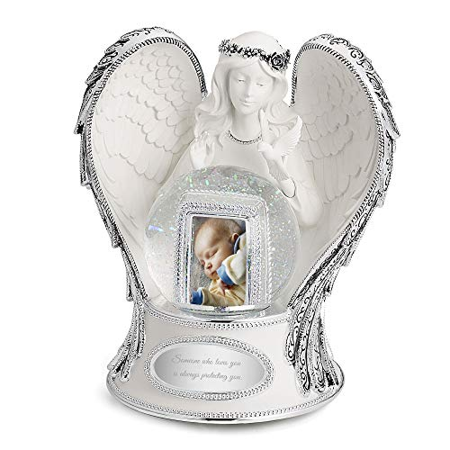 Things Remembered Personalized Guardian Angel Musical Snow Globe with Engraving Included
