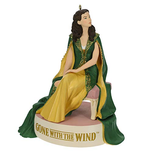Hallmark Keepsake Christmas Ornament 2019 Year Dated Gone with The Wind One Door Closes Scarlett O'Hara with Sound,