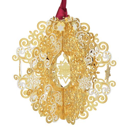 ChemArt 59439 4.25 in. 2019 3D Annual Christmas Ornament
