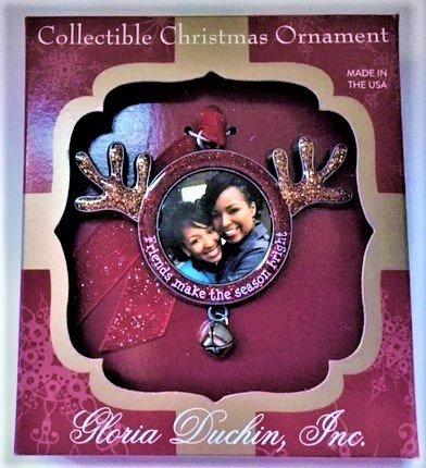 Gloria Duchin Friends Make the Season Bright Ornament