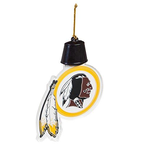 Team Sports America Washington Redskins Radiant Lit Acrylic Team Icon Ornament