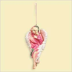 Hallmark Angel of Life 2006 Keepsake Breast Cancer Ornament